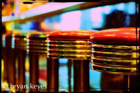 Bryan Keyes / Vintage Diner Stools